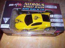 Nitrous Street Racer Super Quick R/C Car w/Working Headlights - 27MHz (Yellow)
