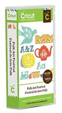 CRICUT *FOLK ART FESTIVAL* CARTRIDGE *NEW* PENNSYLVANIA DUTCH ART, FONT, BORDERS
