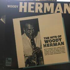 Woody Herman – The Hits Of Woody Herman 1986 Jazz LP Vinyl Record VG+