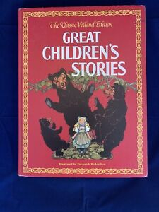 Great Children's Stories The Classic Volland Edition Frederick Richardson - Y3
