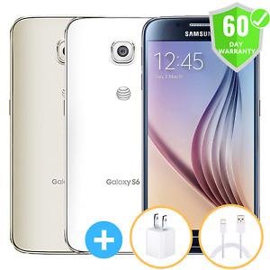 Samsung Galaxy S6 G920A   GSM Unlocked   32GB 64GB 128GB   Very Good