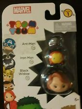 Tsum Tsum Series 1 Marvel 3 Ant-Man, Iron Man And Black Widow