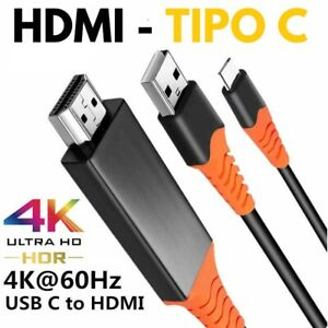 Cable Mhl 4K 6 7/12ft For HDMI For USB Type C for Samsung Xiaomi Huawei