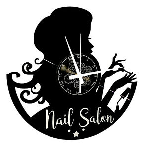 Reloj de Pared Idea de Regalo Salón Belleza Centro Estética Uñas Cosmetólogo
