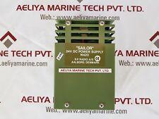 Sailor n420 power supply 24v dc