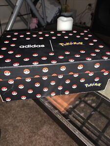 Adidas Pokemon advantage Men's Shoes Sneakers Cloud White Size 8 NEW EH1110 Rare