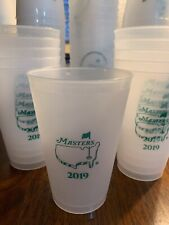 2019 Official Masters Golf Frosted Plastic Drink Cup