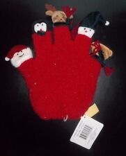 Caltoy Holiday Finger Puppet Glove - Green