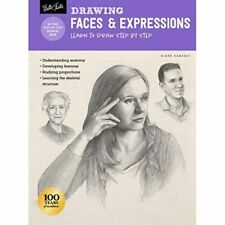 Drawing: Faces & Expressions: Learn to draw step by ste - Paperback / softback N
