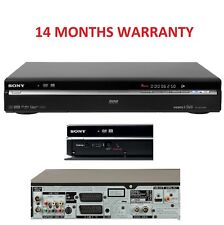 Sony MultiRegion RDR-HXD770 120GB DVD HDD Recorder Freeview HDMI DVB PVR Black