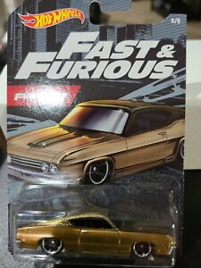 HOT WHEELS FAST & FURIOUS 69 FORD TORINO TALLADEGA