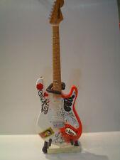 Miniature Guitar (24cm Tall) : Jimi Hendrix Monterrey Stratocaster
