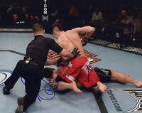 "DAN HARDY signed Autographed ""UFC"" 8X10 PHOTO b PROOF - The Outlaw COA"