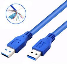 USB 3.0 tipo A macho a Tipo A Macho Extensión Cable De Sincronización De Datos Cable de minería BTC