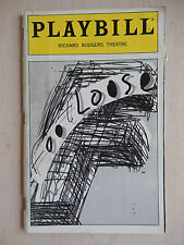 December 1999 - Richard Rodgers Playbill w/Ticket - Footloose - Stacy Francis