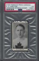 1920 Tobacco Products Canadian Sports Champions C140 KC Aseltine Graded PSA 3MC