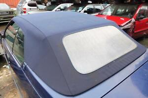 Cabrio Stoffdach Verdeck Blau Renault 19 II Cabriolet mechanisch 1992-1997
