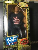 WWF THE ROCK Toyfare Exclusive Collector Figure by JAKKS Pacific (1999) WIZARD