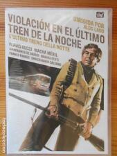 DVD VIOLACION EN EL ULTIMO TREN DE LA NOCHE - ALDO LADO - NUEVA, PRECINTADA (DI)