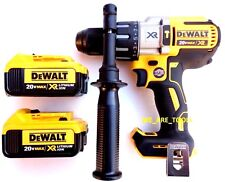 "New DeWalt DCD996 20V Brushless 1/2"" Hammer Drill, (2) DCB204 4.0 Batteries MAX"