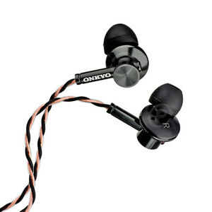 Genuine Onkyo E700M In-Ear Headphones E700MB Hi-Resolution Hi-Res Earbuds w/ Mic