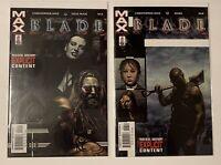 Marvel Max Comics Blade #5, #6 Vol 2 Nick Brooks Vampire Christopher Hinz