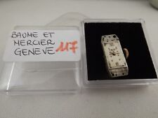 117 - Movimento Baume & Mercier KBU running  con dial sold for parts or repair
