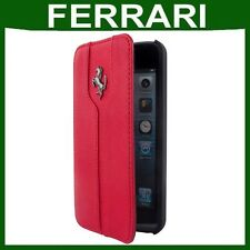 ORIGINALE Ferrari Flip Pelle Custodia Apple iPhone 5c Smartphone BOOK COVER CUSTODIA