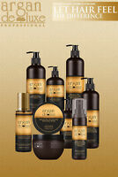 ARGAN DELUXE HAIR PRODUCT ALL RANGE (SHAMPOO,CONDITIONER,MASK,CREAM,OIL, SPRAY)