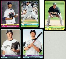 2009 O-Pee-Chee Black Border (Mini's) (Regular) & Blank Back ( #4 - #596)