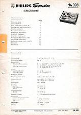 Manuel d'instructions pour Philips N SERVICE 4308