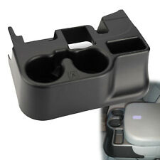 Black Center Console Cup Holder for DODGE RAM ADD-ON 1500/2500/3500 2003-2012