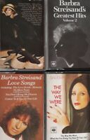 Job Lot/Bundle Of 4 Barbra Streisand Cassettes.Greatest Hits 2/The Way We Were+