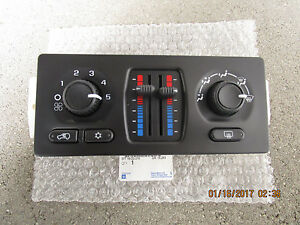 05 - 06 CHEVY AVALANCHE A/C HEATER CLIMATE TEMPERATURE CONTROL OEM BRAND NEW