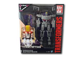 Transformers Generations Titans Return Darkmoon & Astrotrain Action Figures