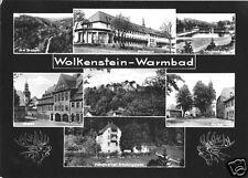 AK, Wolkenstein - Warmbad, sieben Abb., gestaltet, 1966