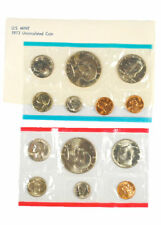 1973 United States US Mint Uncirculated 13pc Coin Set Delay