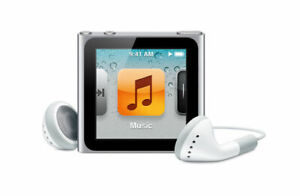 Apple iPod Shuffle 6th Generation 8GB A1366 Silver Same day Post
