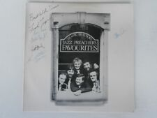 FRANK TRAYNOR'S JAZZ PREACHERS - Favourites 1979 Rare SIGNED OZ JAZZ LP
