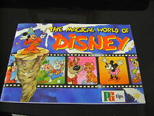 The Magical World Of Disney Album & Cards Full Set By Brooke Bond Tea