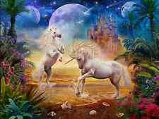 Diamond Painting 5D DIY Unicorn And Castle Embroidery Kit Picture Art Decor Home