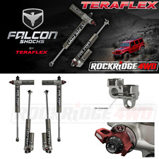"Teraflex Jeep Wrangler JK 4-Door Falcon Series 3.3 Piggyback Shocks w 4""-6"" Lift"