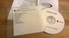 CD POP Kevin Yost-Road Less Travelled (13) canzone PROMO distance Rec presskit
