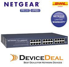 NETGEAR JGS524 24 Port Gigabit Gigabit Rackmount Switch