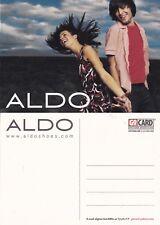 ALDO SHOES UNUSED ADVERTISING COLOUR  POSTCARD (f)