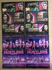 HUSTLERS / CHARLIE`S ANGELS  (2019) - JAPAN Chirashi/Mini-Posters - Set of 4!!