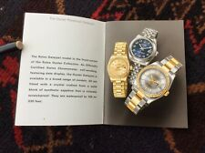2006 / 552.02 + free shipping Rolex Date-Just Booklet In English year