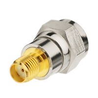 SMA Jack female to F Type Plug male straight SMA-F coaxial adapter connector