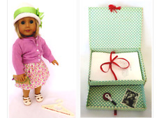 """Early Pleasant Company AG KIT KITTREDGE 18"""" Doll w/1st Meet Outfit & Accessories"""
