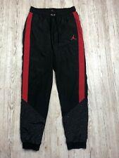 Nike Air Jordan Diamante cemento Tejido Pantalones Talla S Pequeño Pantalones AR3244 010